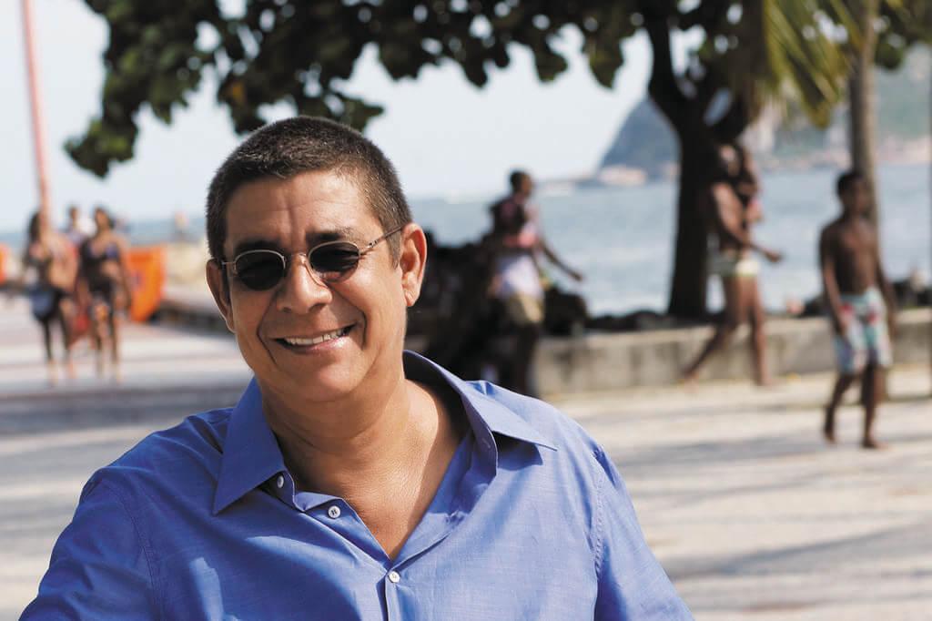 Zeca Pagodinho faz show do novo CD no Rio