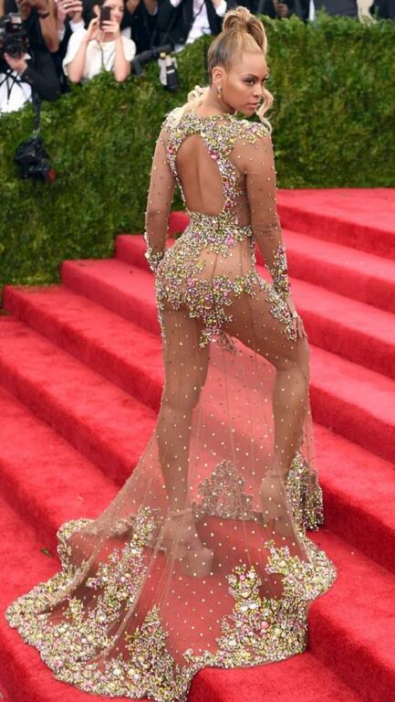 Beyonce com Givenchy