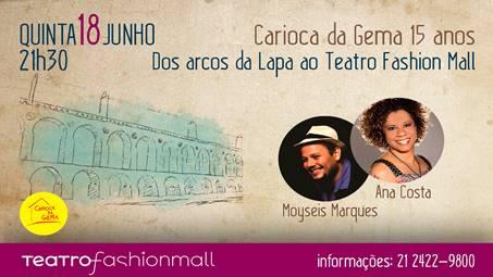 15 anos de Carioca da Gema