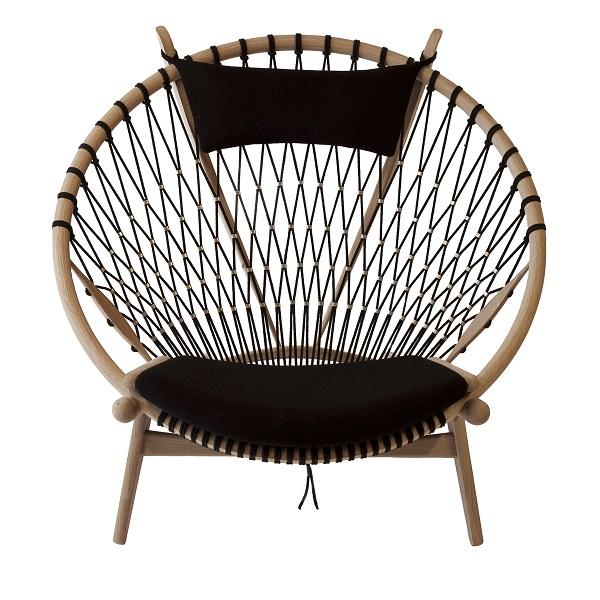circle chair, hans j. weger