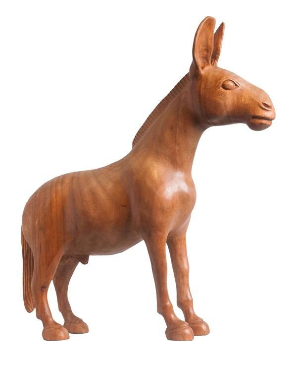 burro em madeira, joão julião, minas gerais