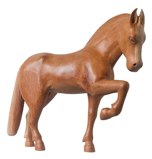 cavalo em madeira, joão julião, minas gerais