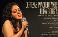 Luiza Borges faz shows no Rio em setembro