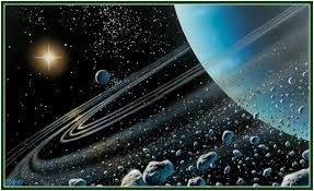 Das profundezas do sistema solar ele impulsiona mudanças