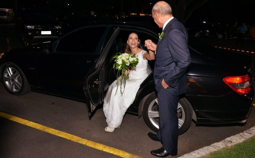 Ricardo Boechat casa sua filha Paula com Hugo Câmara no Rio