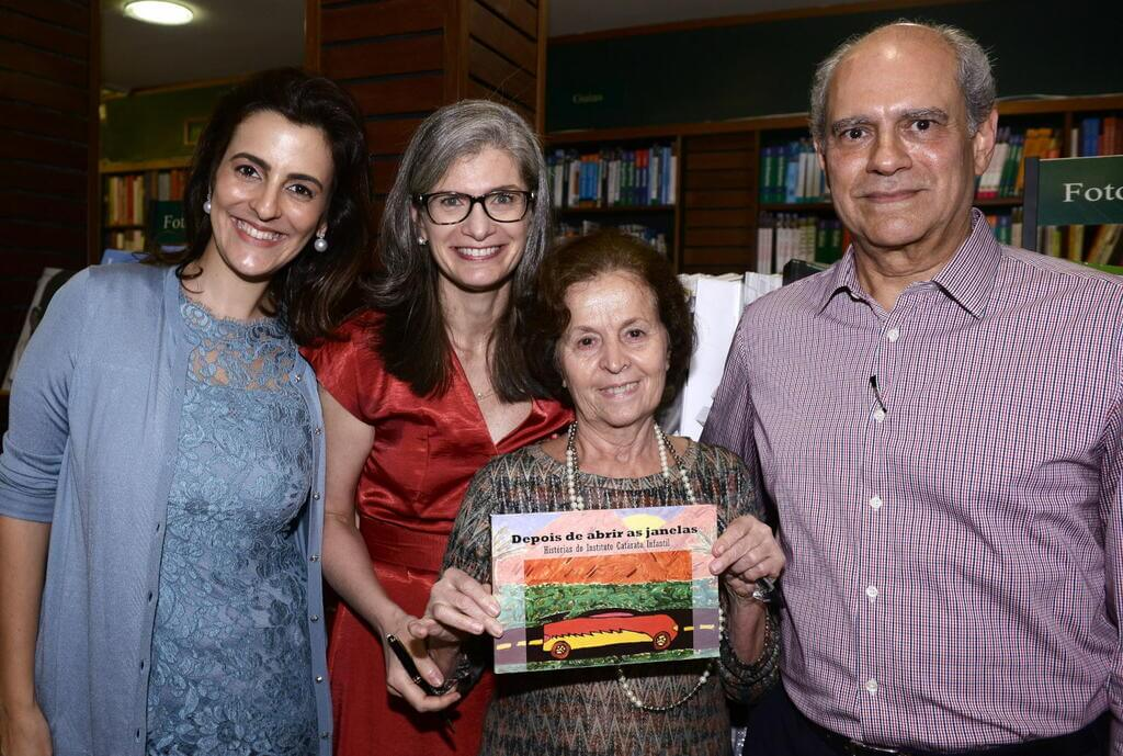 """Instituto Catarata Infantil lança livro """"Depois de Abrir as Janelas"""""""