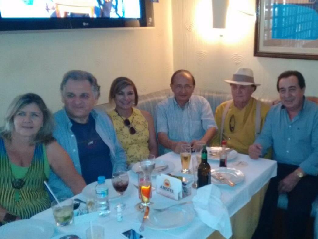 Ex-ministro das Cidades é homenageado na Pizzaria Guanabara