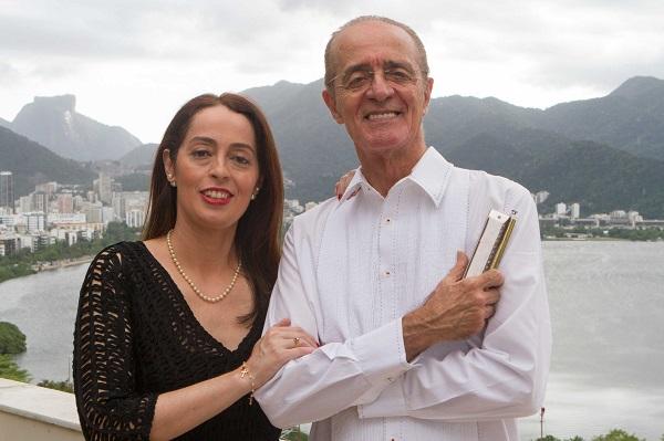 Eu e minha filha – Rildo e Patrícia Hora