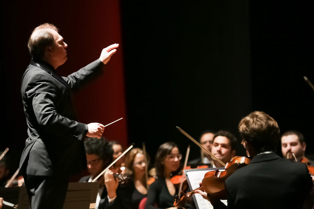 Orquestra Sinfônica Brasileira se apresenta na Cidade das Artes
