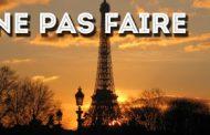 10 coisas para NÃO se fazer em Paris