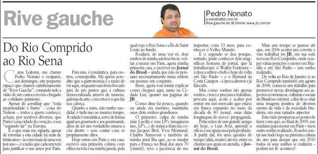 Rio Comprido Rio Sena