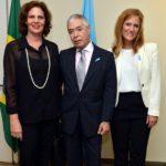 Katia Leite, Alejandro Suarez Hurtado e Mara Mussini