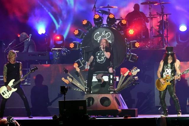 Guns N' Roses faz cinco shows no Brasil em novembro
