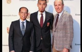 Ermenegildo Zegna veste a seleção chinesa de futebol até 2020