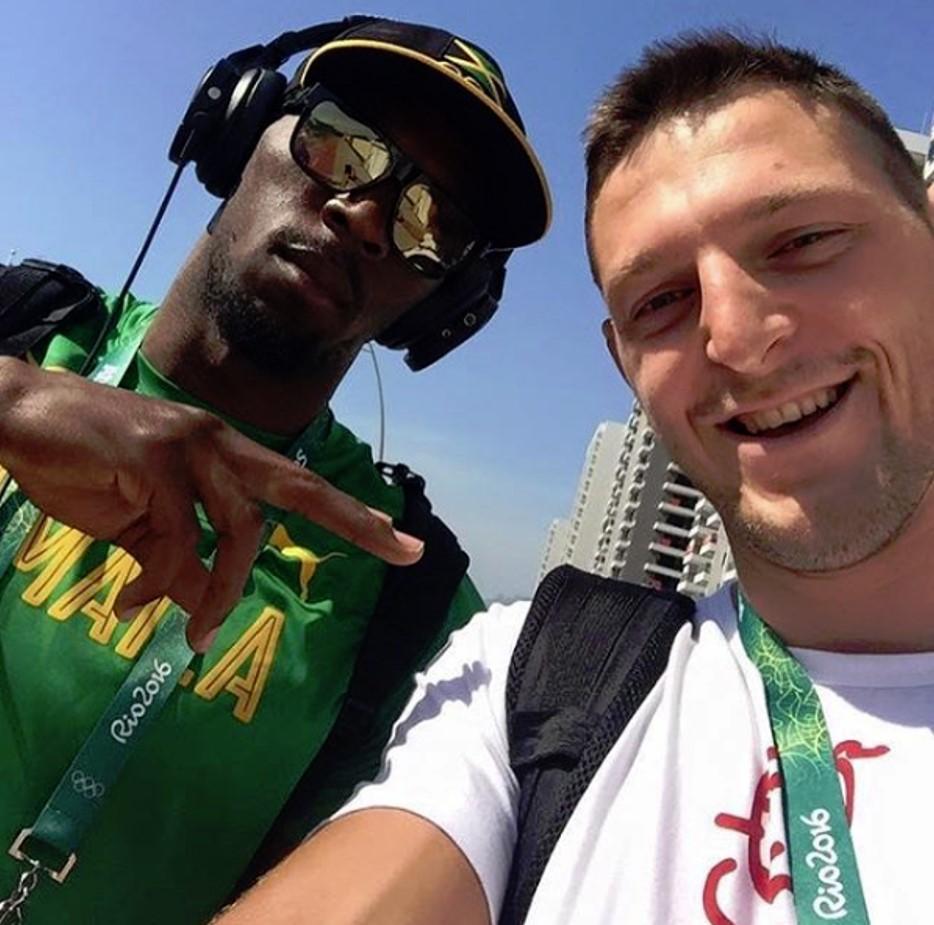 Selfies na Vila dos Atletas