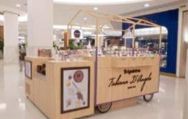 Carrinho de doces é novidade no Shopping Leblon