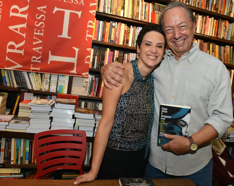 Lançamento de livro sobre economia na Era Dilma leva personalidades a Ipanema