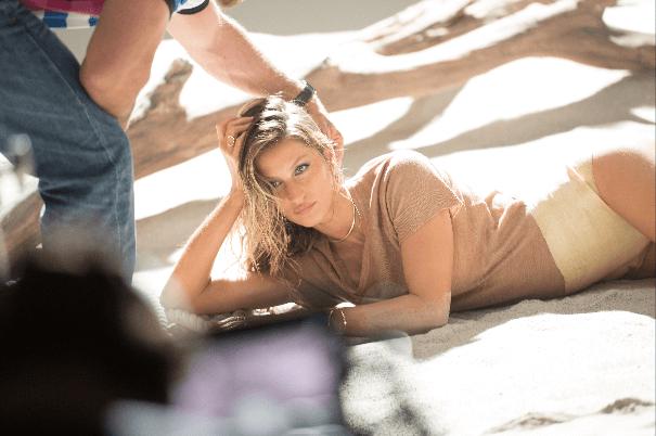 'Making of' com Gisele Bundchen