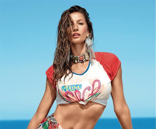Gisele em dose dupla na capa da Vogue