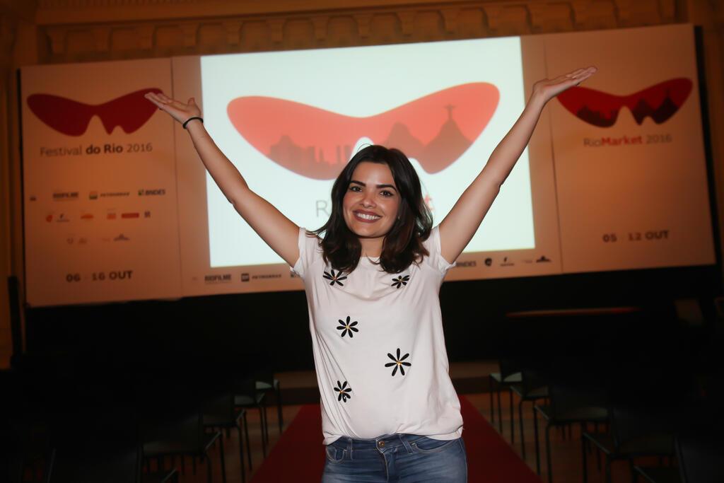 VanessaGiácomoestreia como roteirista no Festival do Rio