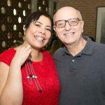 Claudia Cury e Alberto Sabino