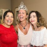 Claudia, Marcia e Vera Loyola