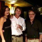 Amanda, Alexandre Hirsch e Luis Paulo Wiltgen