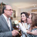 Arnaldo Danemberg, Paula Nabuco e Cissa Guimaraes