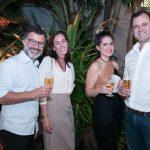 Beto Figueiredo, Thereza Nolasco, Paloma Danemberg e Erick Figueira de Mello