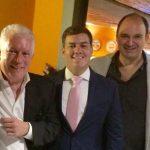 Chicô, Paulo Igor e Cláudio Ambrosio