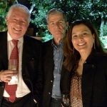 Chicô com Daniel Carvalho e Ariane Carvalho