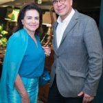 Cristina Burlamaqui e Arnaldo Danemberg