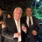 O novo Cidadão Petropolitano e seu anfitrião Julio Sobreira