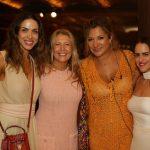 Taciana Veloso, Donata Meirelles, Mannu Carvalho e Paula Bezerra de Mello