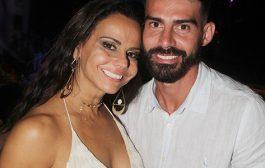 Viviane Araújo comemora aniversário no Alto da Boa Vista