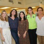 Ana Raia, Marisa Orth, Stephanie Wenk, Luiza Almeida e Ligia da Veiga Pereira