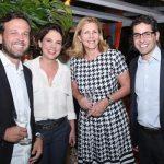 André Belo, Marlize Belo, Maria Rita Pinheiro e Luiz Rodolfo Ryff