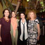 Cristina Paulino, Toia Lemann, Fernanda Elisa e Ira Etz
