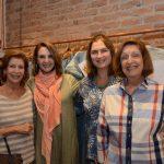 Dulce Martins, Toia Lemann, Luciana Almeida Braga e Maria Lúcia Moura
