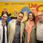 Fernanda Elisa, Carlos Contente, Toia Lemann e Luiz Áquila