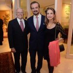 Fernando Toste, Sergio Chamone e Dianna Macedo Soares
