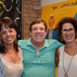 Isabela Drummond, Marcelo Valls e Rachel Sabbagh