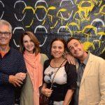 Lauro Cavalcanti, Toia Lemann, Beatriz Linhares e Carlos Contente