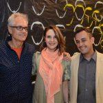 Lauro Cavalcanti, Toia Lemann e Carlos Contente