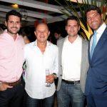 Leonardo Gandara, Leandro Dias, Rodrigo Gandara e Tulio Ideses