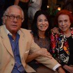Luiz e Teresa Quattrone com Lucy Barreto