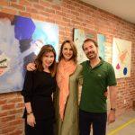 Mara Lúcia Fontainha, Toia Lemann e Mauro Fontainha