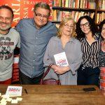 Marcos Breda, Flavio Marinho , Jacqueline Laurence, Luciana Braga e Maria Siman