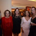 Martha Bezerra de Mello, Regina Rique, Maria Anísia Bonaparte, Yvonne Bezerra de Mello e Henriqueta Magalhães