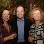 Regina Faria, Carlos Roberto Osório e Ira Etz